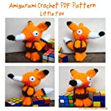 Little Fox Amigurumi Crochet Dolls PDF Pattern