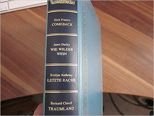 Amazon.com: Comback/Wie wilder Wein/Letzte Rache/Traumland ...