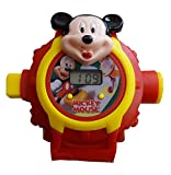 S S TRADERS -Mickey Mouse 3D unique 24 Images Projector Digital Toy Watch for kids watch - Best Return Gift for Kids