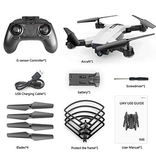 S6 720P WIFI Cámara Quadcopter Altitude Hold Control remoto ...