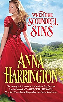 When the Scoundrel Sins (Capturing the Carlisles) by [Harrington, Anna]