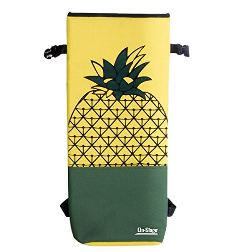 On-Stage GBU4203PA Soprano Ukulele Bag, Pineapple Print