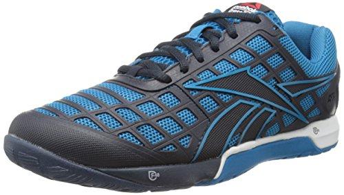 Reebok Men's Crossfit Nano 3.0 Training Shoe, Conrad Blue/Reebok Navy Athletic Navy/White, 8 M US