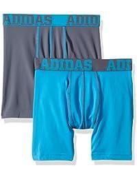 Boys Sport Performance Climalite Boxer Brief Underwear (2 Pack)