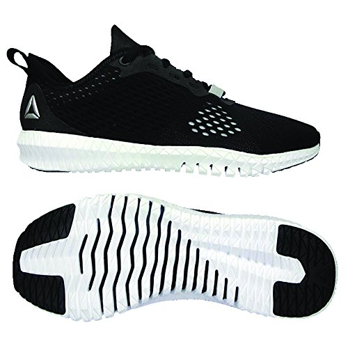 Fitness de Silver Flexagon Pure Black Fille 000 Reebok White Chaussures Multicolore 14xq7txZw