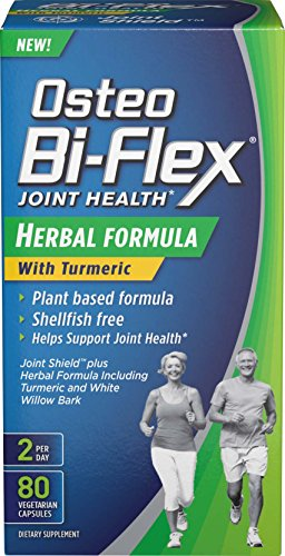 Health Herbal Formula (Osteo Bi-Flex® Herbal Formula w/Turmeric 80 Vegetarian Capsules)