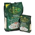 Golden Grain Premium Basmati Rice, Biryani Rice 5Kg