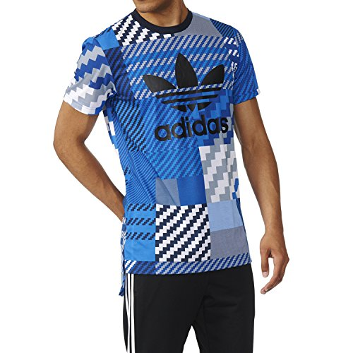 Adidas Men's Originals Essentials Trefoil Printed T-Shirt
