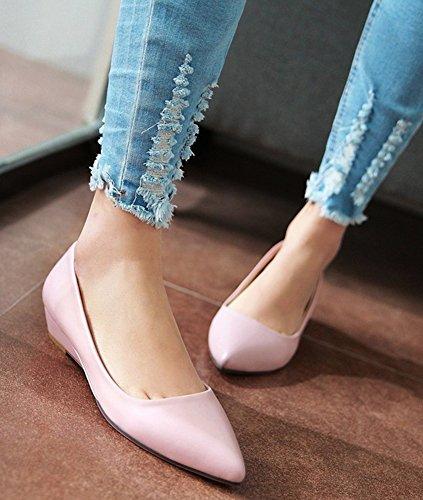 Comfy Loafers På Kvinners Lavt Rosa Aisun Slip Kutt 5nSwAY
