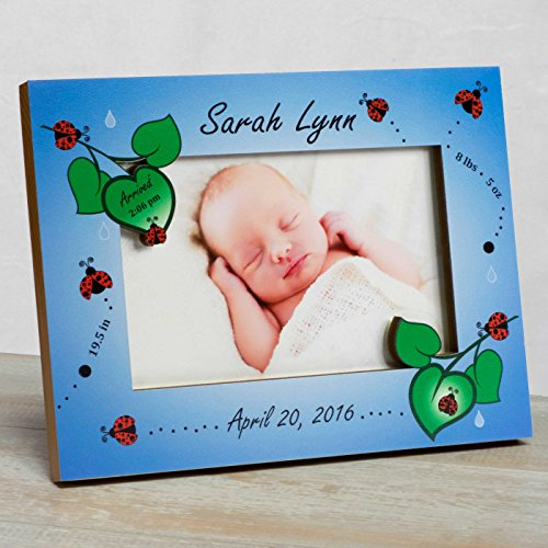 Personalized Baby Picture Frame Baby Girl Picture Framebaby Frame