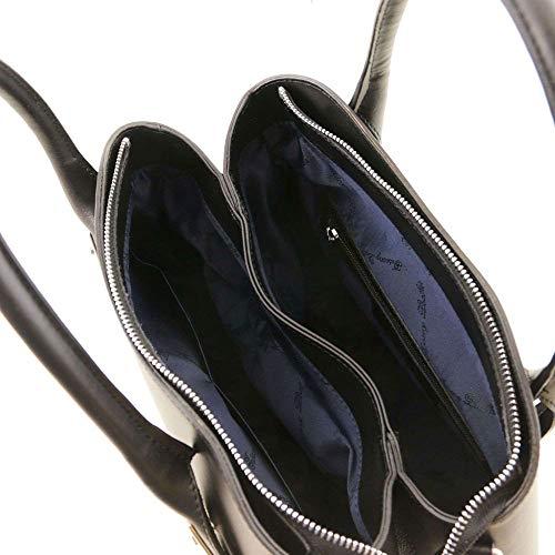 Spalla Borsa Nero Leather Donna Tuscany Compact A Tl141694 OzEIq