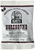 Claeys Horehound Hard Candy, 6 oz (Pack of 3)