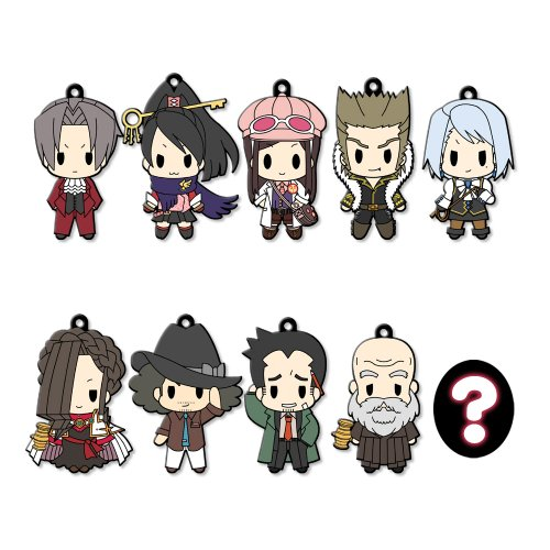 D4 - Gyakuten Saiban / Gyakuten Kenji - Rubber Strap Collection vol.2 : Renewal Package ver. (10pcs)