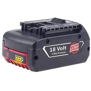 2 x Bosch Original Spare Battery GBA 18 Volt 1,5 Ah for GSR Gsb Gks Gst