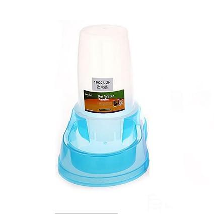 JL Mascotas Dispensador De Agua Alimentador Automático Gravedad Suministro Capacidad 1 GAL (3.8L,