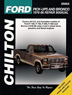 ford pick ups 1965 86 9780801976629 amazon com books rh amazon com ford f100 repair manual free download 1968 ford f100 repair manual pdf