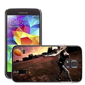 Super Stellar Slim PC Hard Case Cover Skin Armor Shell Protection // M00049421 aero me away take creative // Samsung Galaxy S5 i9600