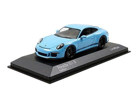 Minichamps 410066225 Gulf Porsche 911/991 R - 2016 - Escala 1/43, Azul/Negro: Amazon.es: Juguetes y juegos