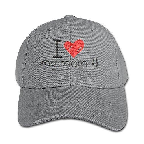 Lalamin Kids I Love My Mom Cap Adjustable Snapback Baseball Cap Toddler Trucker Hats For (Halloween Events London For Children)