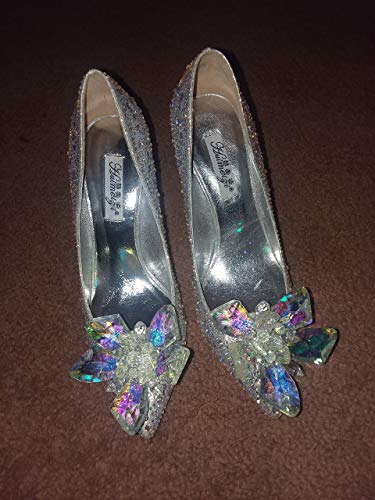 Cinderella Movie 2015 The Glass Slipper Princess Crystal Shoes Adult ()