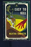 Easy to Kill, Agatha Christie, 0553350552