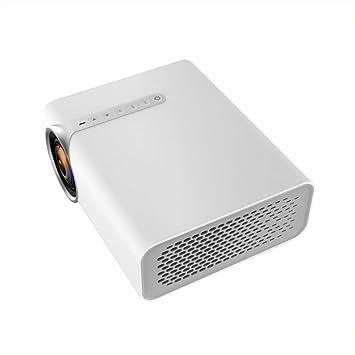LYXLQ Proyector portátil, Mini proyector 1080P HD, Audio ...