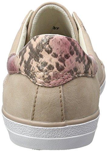 Esprit Damen Miana Lace Up Sneaker Roze (donker Oudroze 675)