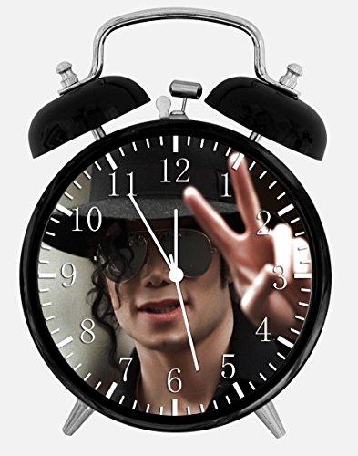Michael Jackson Alarm Desk Clock 3.75