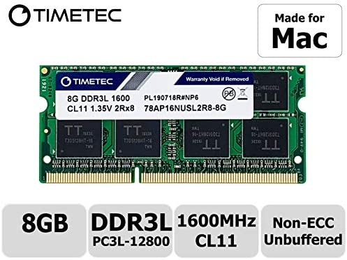 16GB 2x8GB PC3-12800 DDR3-1600 sodimm for Apple 27-in iMac Late 2012 2013 Memory