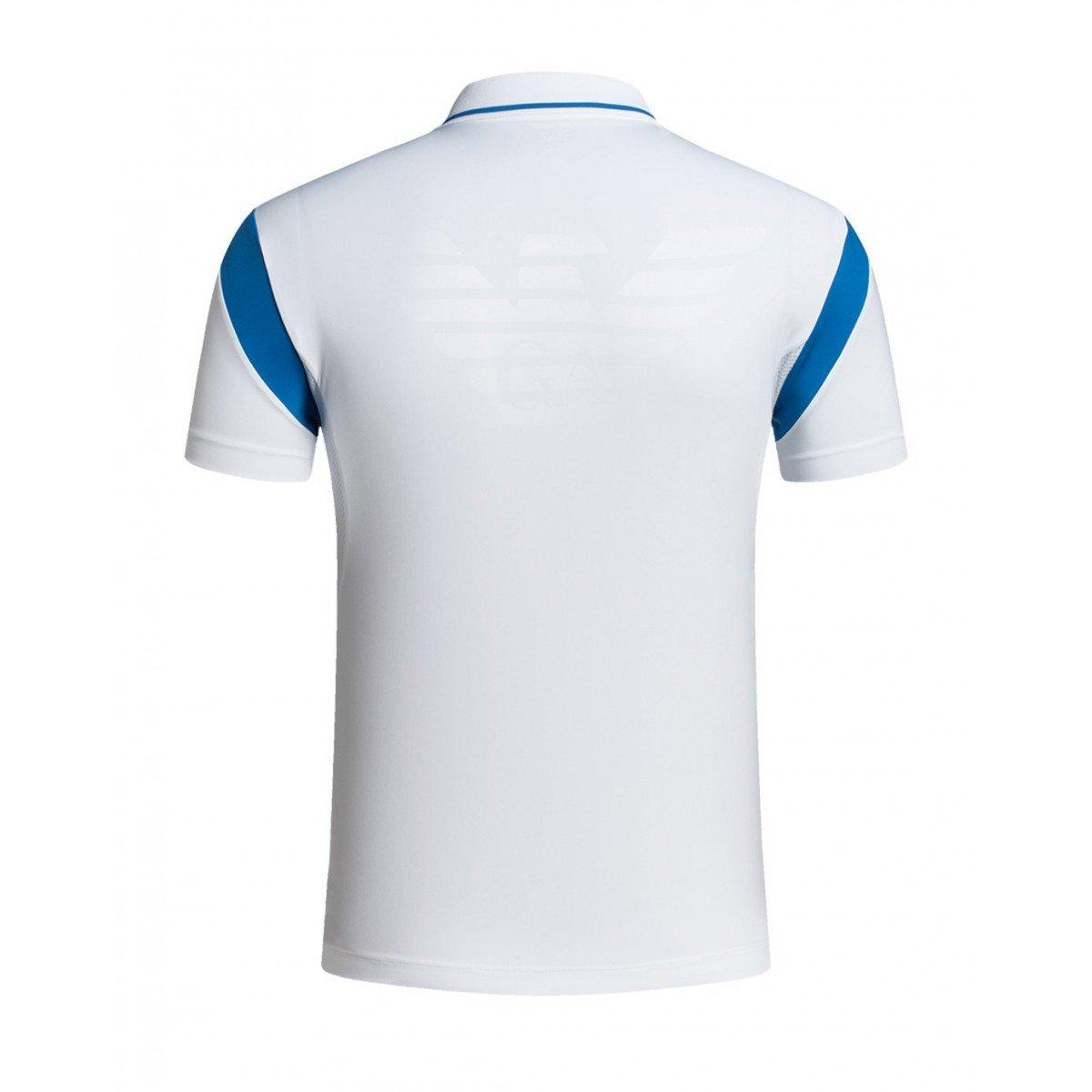 Emporio Armani - Polo - para Hombre Blanco XS: Amazon.es: Ropa y ...