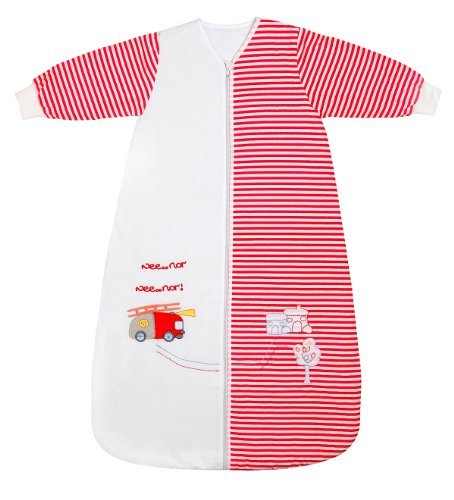 - Slumbersafe Winter Toddler Sleeping Bag Long Sleeves 3.5 Tog - Fire Engine, 18-36 months/LARGE