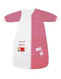 Slumbersafe Winter Toddler Sleeping Bag Long Sleeves 3.5 Tog - Fire Engine, 18-36 months/LARGE
