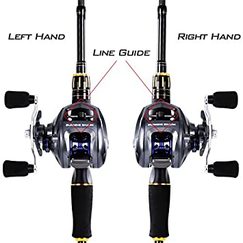 Fishing Rod and Reel Combo,4 Piece Ultra Light Fishing Combos, Travel Fishing Poles and Reel Combos for Freshwater Fishing with Packaging Box
