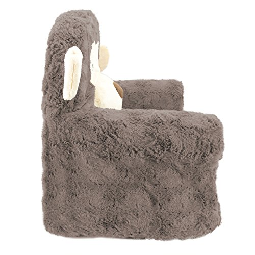 51u0 Liw RL - Sweet Seats | Brown Monkey Children's Chair | Large Size | Machine Washable Cover