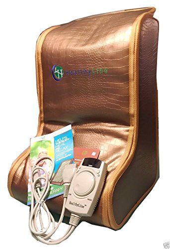 HealthyLine Far Infrared Heating Legs Wrap (Firm) Natural...