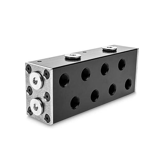 Ek Water Blocks Ek Pro Manifold 2cpu 2gpu Verteiler Acetal Sc Gewerbe Industrie Wissenschaft