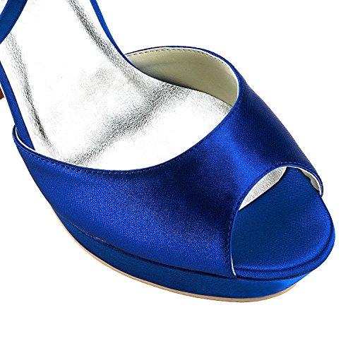 13 Per blu Minitoo Tallone Pompe Blu Donne Centimetri U1qUpwx