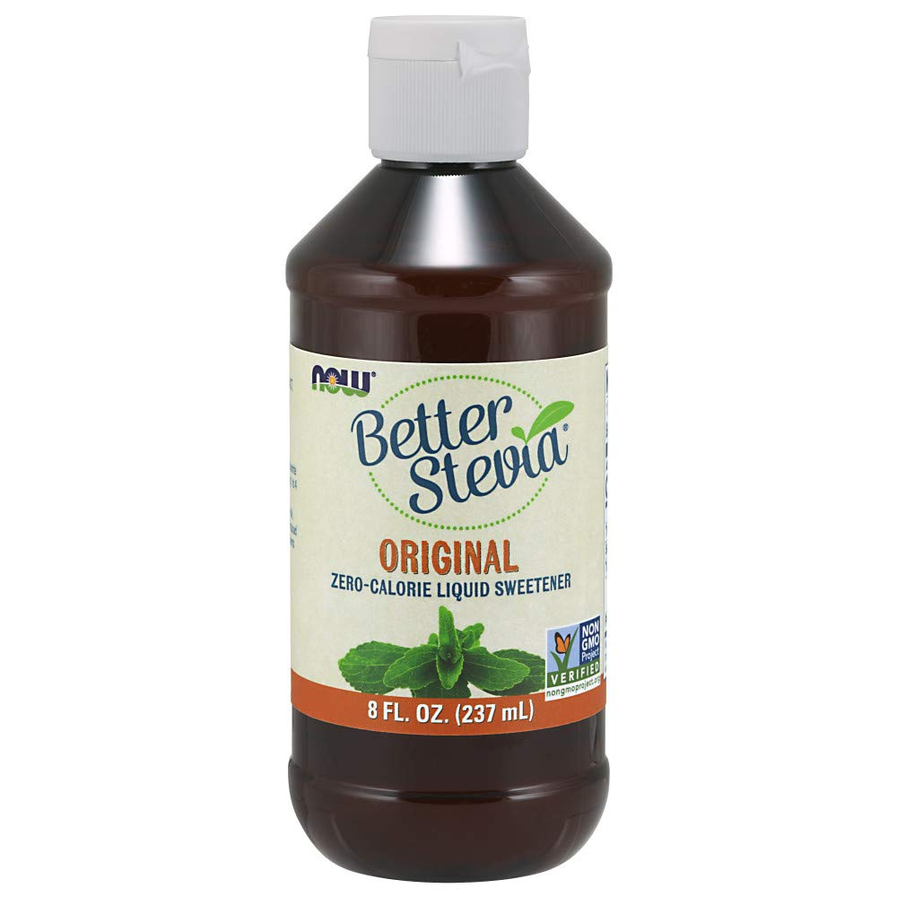 NOW Foods BetterStevia Liquid,8-Ounce by NOW Foods