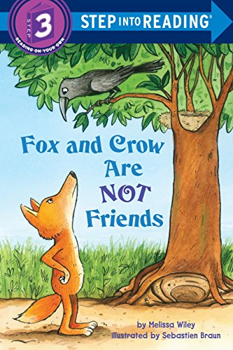 Fox and Crow Are Not Friends (Step into Reading) [Melissa Wiley] (Tapa Blanda)