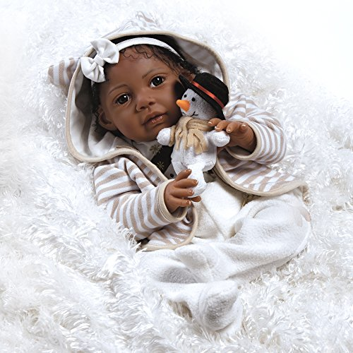 Paradise Galleries Reborn Baby Doll Like African American