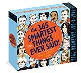 img - for 365 Smartest Things Ever Said! Page-A-Day Calendar 2020 book / textbook / text book