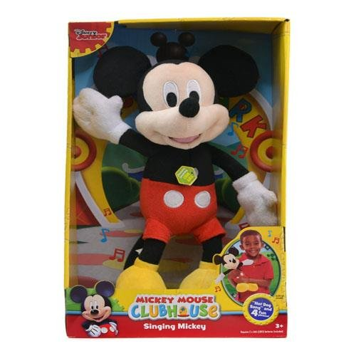 "Disney Mickey 'Hot Dog Song"" 12"" Singing Plush -"