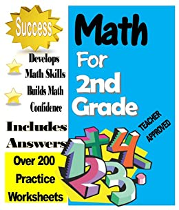 Amazoncom Second Grade Math Over  Practice Worksheets With  Second Grade Math Over  Practice Worksheets With Answers By Exton John