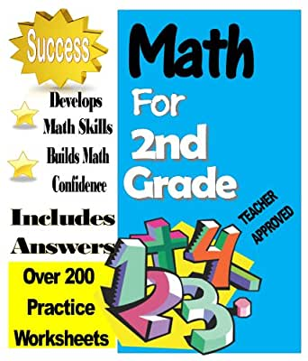 Workbook first grade worksheets pdf : Amazon.com: Second Grade Math Over 200 Practice Worksheets with ...