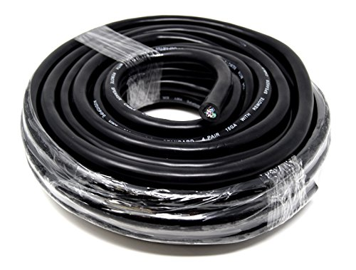 Multi Strand 18 Gauge - 40' Feet Speed Wire 9 Conductor 18 GA Audiopipe Car Audio Speaker Remote Wire