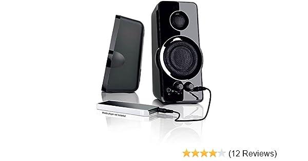BlackWeb 3 5 mm aux imput MULTI-MEDIA PC SPEAKERS MP3 input Bass Power