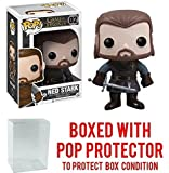 Funko Pop! Game of Thrones: GOT - Ned Stark #02 Vinyl Figure (Bundled with Pop BOX PROTECTOR CASE)