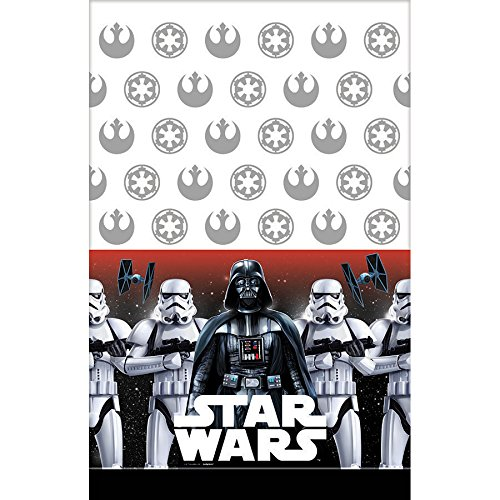 Quick Easy Star Wars Costumes (American Greetings Star Wars Plastic Table Cover)