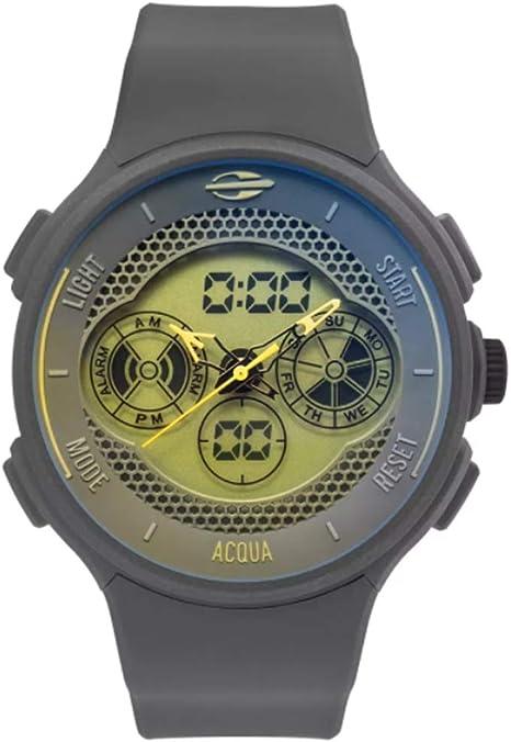 Relógio Mormaii, Pulseira de Silicone, Masculino, Prata