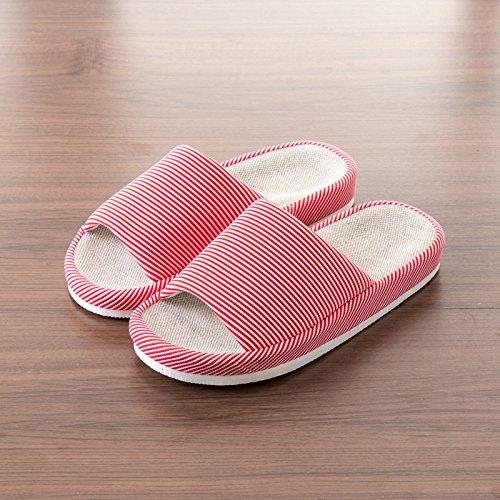 d' lin chaussons chambre des des la Homme couples dispose Femme Accueil bassin de saisons d'une Yznw60